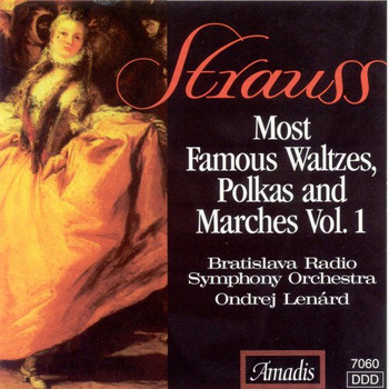 Strauss Family - Most Famous Waltzes/Polkas/Mar