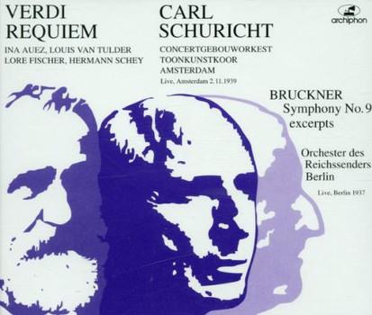 Auez - Schuricht dirigiert Verdi und Bruckner (Aufnahme 1937 / 1939)