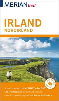 MERIAN live! Reiseführer Irland Nordirland. Mit Extra-Karte zum Herausnehmen - Werner Skrentny  [Taschenbuch]