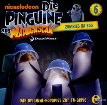 Die Pinguine aus Madagascar - Folge 6,Zombies im Zoo,Hsp Z.TV-Serie