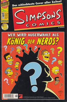 Simpsons Comics 76: Der Tag der Nerds - Ian Boothby [Broschiert]