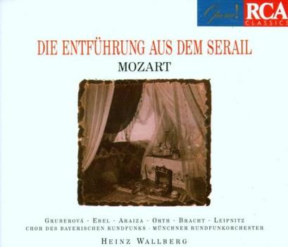 Wallberg - Mozart: Die Entführung aus dem Serail (Gesamtaufnahme(ital.),Aufnahme 1978)