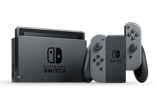 Nintendo Switch 32GB [incl. controller grijs] zwart