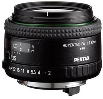 Pentax HD FA 35 mm F2.0 AL 49 mm filter (geschikt voor Pentax K) zwart