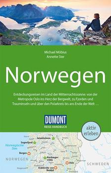 DuMont Reise-Handbuch Reiseführer Norwegen. mit Extra-Reisekarte - Michael Möbius  [Taschenbuch]