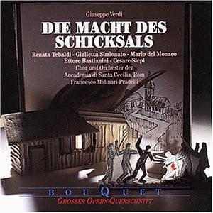 Tebaldi - Verdi: Die Macht des Schicksals (Querschnitt) [italienische ]