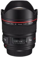 Canon EF 14 mm F2.8 L USM II (geschikt voor Canon EF) zwart