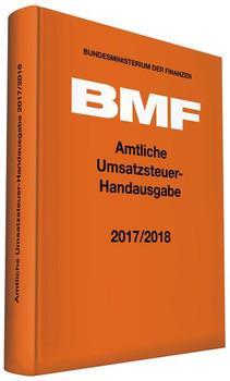 Amtliche Umsatzsteuer-Handausgabe 2017/2018 [Gebundene Ausgabe]