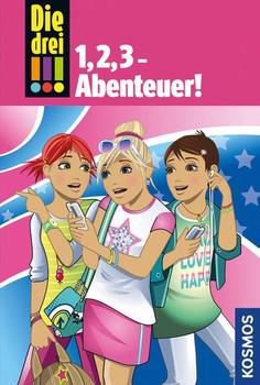 Die drei !!!, 1,2,3 Abenteuer - Henriette Wich  [Gebundene Ausgabe]