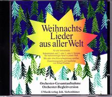 Music Makes the World go Round - Weihnachten aus aller Welt - Play Along CD / Mitspiel CD [Taschenbuch]