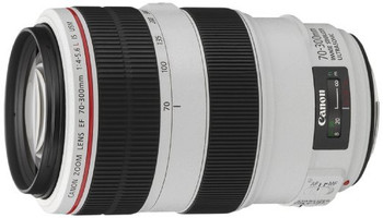 Canon EF 70-300 mm F4.0-5.6 IS L USM 67 mm Obiettivo (compatible con Canon EF) bianco