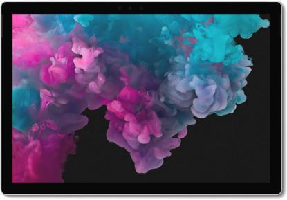 "Microsoft Surface Pro 6 12,3"" 1,9 GHz Intel Core i7 256 Go SSD [Wifi] gris platine"