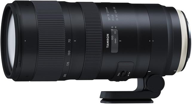 Tamron SP 70-200 mm F2.8 Di USD VC G2 77 mm Obiettivo (compatible con Canon EF) nero