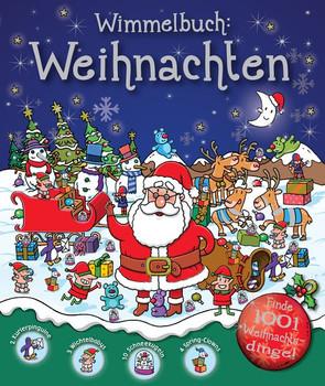 Wimmelbuch Weihnachten.Wimmelbuch Weihnachten Gebundene Ausgabe