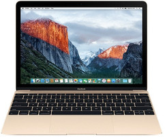 Apple MacBook 12  (Retina Display) 1.1 GHz Intel Core M3 8 Go RAM 256 Go PCIe SSD [Début 2016, clavier français, AZERTY] gold