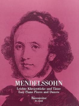 Leichte Klavierstücke und Tänze - Mendelssohn-Bartholdy, Felix