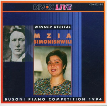 Mzia Simonishwili - Busoni Wettbewerb 1994