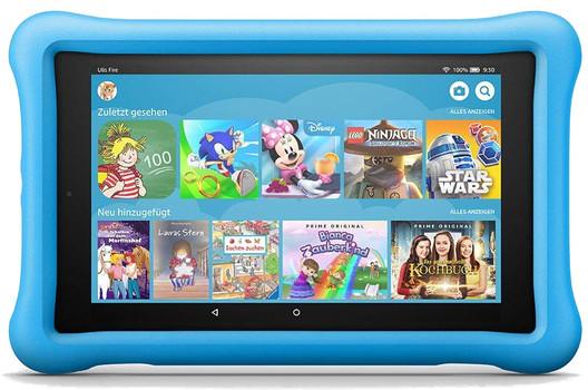 "Amazon Fire HD 8 8"" 32GB [wifi, kids editie, model 2018] blauw"