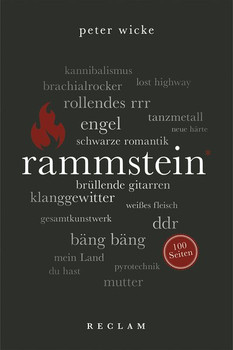 Rammstein. 100 Seiten - Peter Wicke  [Taschenbuch]