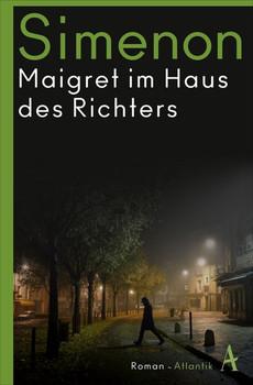 Maigret im Haus des Richters. Roman - Georges Simenon  [Taschenbuch]