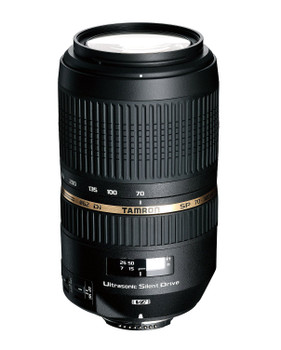 Tamron SP 70-300 mm F4.0-5.6 Di LD USD Macro 62 mm Objetivo (Montura Canon EF) negro