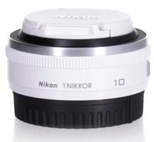 Nikon 1 NIKKOR 10 mm F2.8 40,5 mm filter (geschikt voor Nikon 1) wit