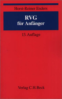 RVG für Anfänger - Horst-Reiner Enders