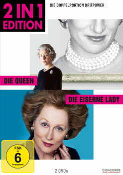 Die Queen / Die Eiserne Lady [2 in 1 Edition, 2 Discs]