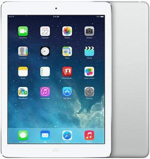 "Apple iPad Air 9,7"" 128GB [wifi + cellular] zilver"