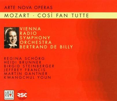 Bertrand de Billy - Mozart: Cosi fan tutte (Gesamtaufnahme)