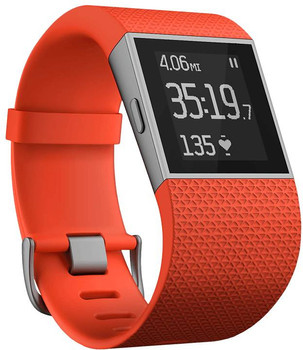 Fitbit Surge Grande rosso arancione