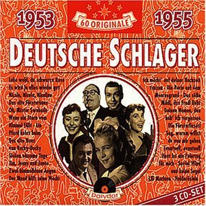 Various - Deutsche Schlager 1953-1955