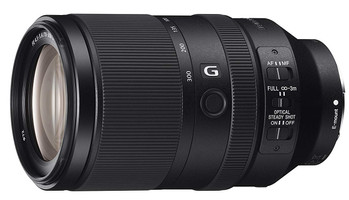 Sony FE 70-300 mm F4.5-5.6 G OSS 72 mm filter (geschikt voor Sony E-mount) zwart