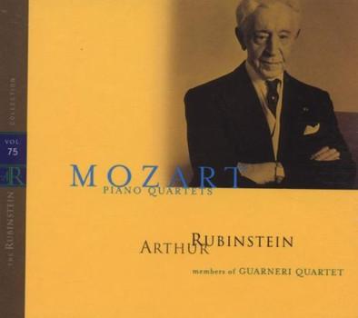 Artur Rubinstein - Kavierquartette KV 478 + KV 493