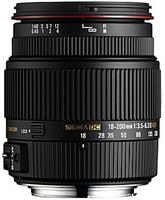 Sigma 18-200 mm F3.5-6.3 DC HSM OS II 62 mm filter (geschikt voor Canon EF) zwart