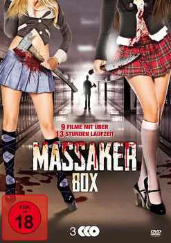 Massaker Box [3 DVDs]