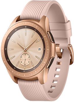 Samsung Galaxy Watch 42mm oro con correa de silicona rosa [Wifi]