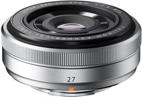 Fujifilm Fujinon X 27 mm F2.8 39 mm Obiettivo (compatible con Fujifilm X) argento
