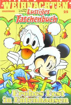 Lustiges Taschenbuch Weihnachten 25. Frohes Fest in Entenhausen - Disney  [Taschenbuch]