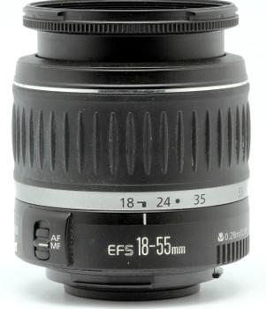 Canon EF-S 18-55 mm F3.5-5.6 58 mm Objectif (adapté à Canon EF-S) noir