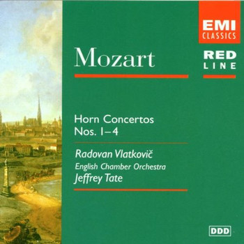 Vlatkovic - Red Line - Mozart (Hornkonzerte)