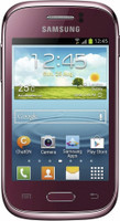 Samsung S6310N Galaxy Young 4GB rosso