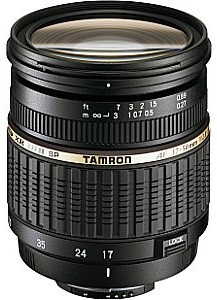 Tamron SP AF 17-50 mm F2.8 ASL Di IF XR LD II 67 mm Obiettivo (compatible con Canon EF) nero