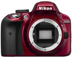 Nikon D3300 Cuerpo rojo