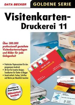 Goldene Serie Visitenkarten Druckerei 11 Cd Rom Für Windows