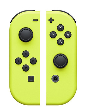 Nintendo Switch Joy Con Set Mandos amarillo