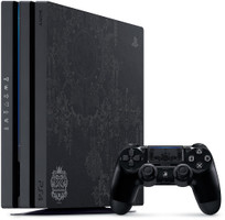 Sony PlayStation 4 pro 1 TB [Kingdom Hearts III Limited Edition incl. draadloze controller, zonder spel] zwart