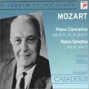 Robert Casadesus - Wolfgang Amadeus Mozart (1756-