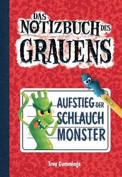 Notizbuch des Grauens Band 1 - Kinderbücher ab 6-8 Jahre (Erstleser Jungen Mädchen) - Troy Cummings  [Gebundene Ausgabe]