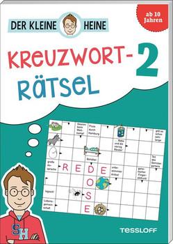 Der kleine Heine: Kreuzworträtsel 2. Kniffliger Rätselspaß - Stefan Heine  [Taschenbuch]